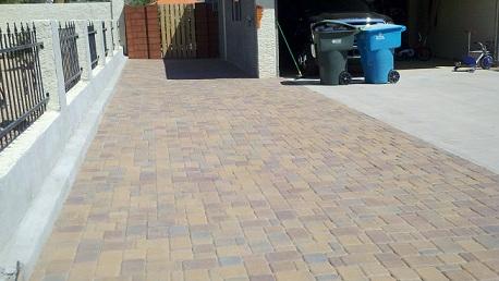 Acker Stone Gila Blend Concrete pavers