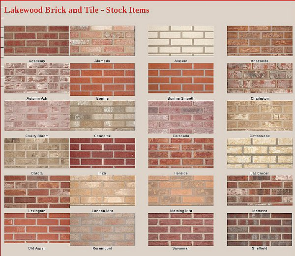 Brick Look Floor Tile
